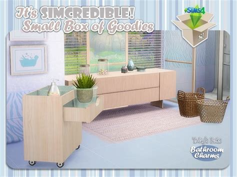 Bathroom Decor Objects Bathroom Charms By Simcredible At Tsr 187 Sims 4 Updates