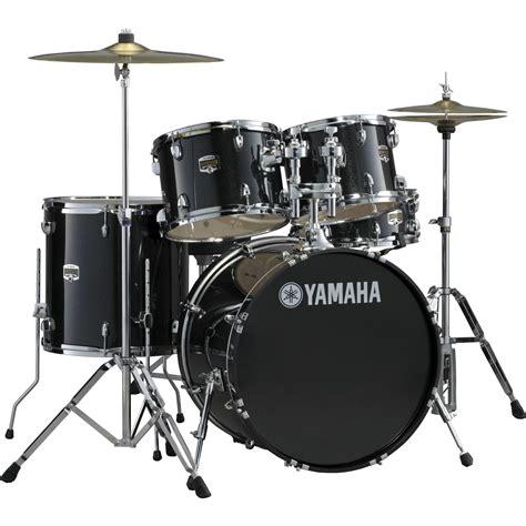 Drum Set yamaha gigmaker 5 standard drum set with 22 quot bass drum black glitter musician s friend