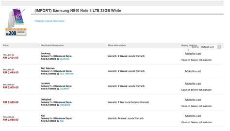 Hp Samsung Galaxy Di Malaysia harga samsung galaxy note 4 di malaysia soleheen
