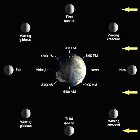 moon phases diagram welcome to a new count