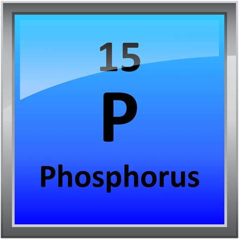 Phosphate Periodic Table by 015 Phosphorus Science Notes And Projects