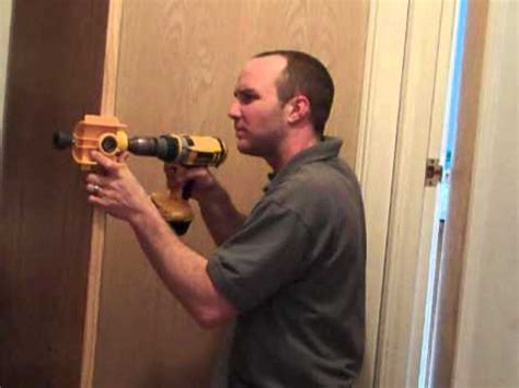 How To Take Out A Door Knob by Cutting Door Knob
