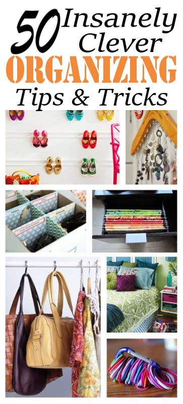 101 awesome home organizing tips and tricks diy home sweet home 50 insanely clever organizing ideas