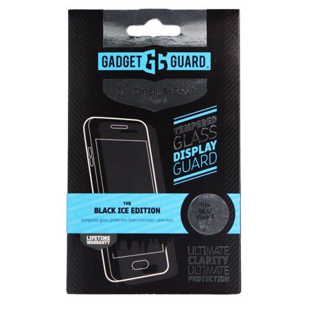 Tempered Glass Clear Vivo gadget guard black tempered glass screen protector for