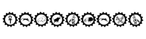animal tattoo fonts tribal animals tattoo designs font