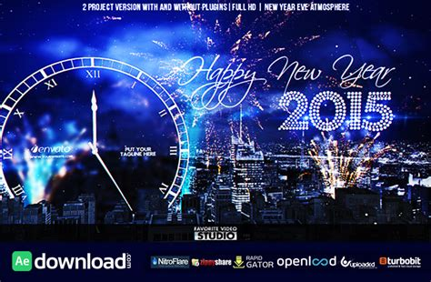 Countdown To 2007 A New Years Celebration by New Year Countdown 2015 Videohive Template Free