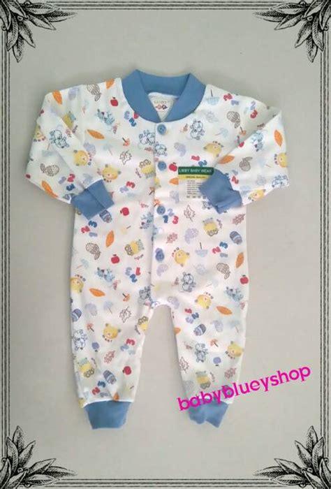 Libby Baju Panjang jual baju tidur bayi jumper libby panjang ukuran newborn