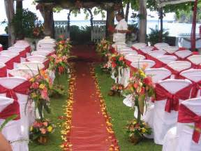 Decorating Ideas For Weddings Outdoor Wedding Decoration Ideas Ideas