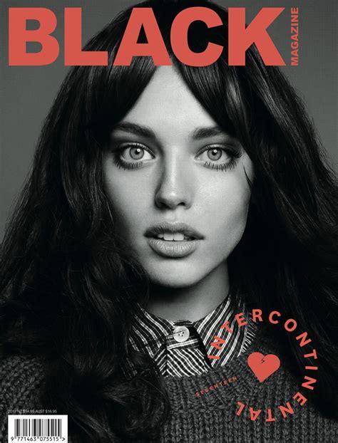 black magazines emily didonato for black magazine fall winter 2012