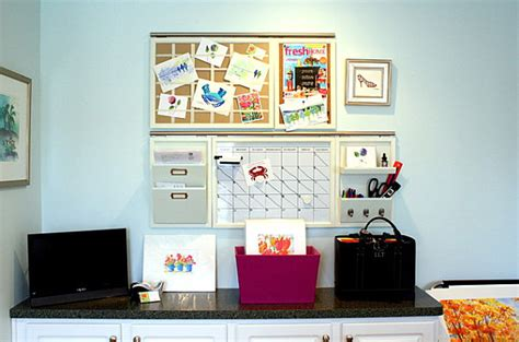 home office wall organizing your home office