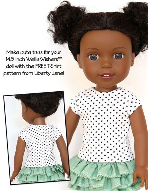shirt pattern doll 58 best images about wellie wishers patterns on pinterest