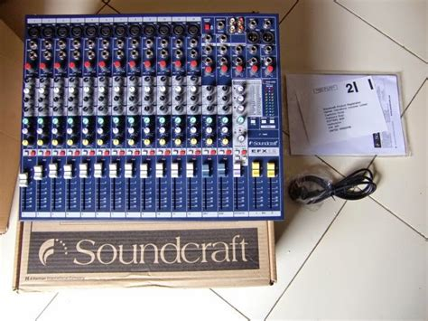 Mixer Soundcraft Paling Murah imagination store mixer soundcraft efx 12 12