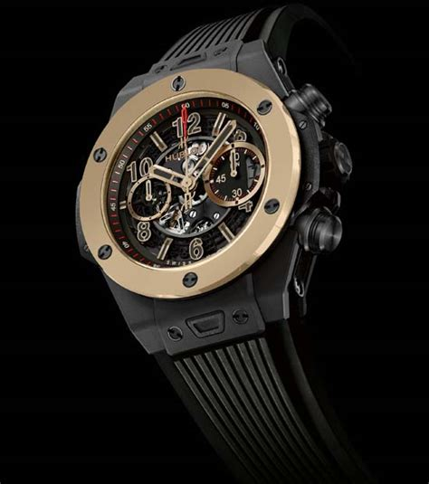 golden jubilee size comparison hublot big unico magic gold luxuryes