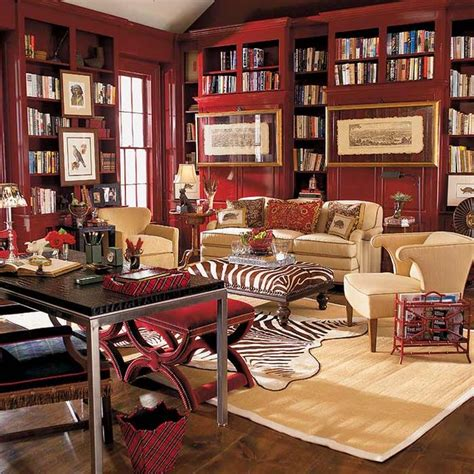 home office library houzz eclectic study