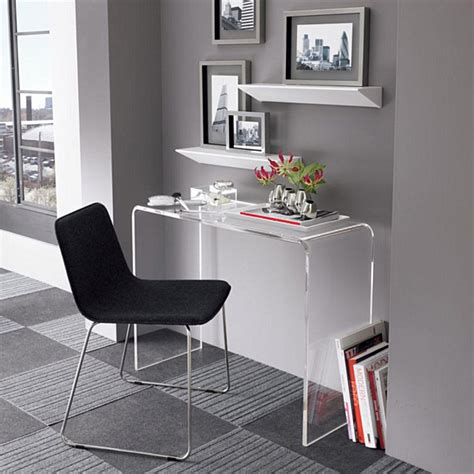 Perspex Computer Desk Modern Design Cheap Acrylic Desk Clear Perspex Lucite U Shaped Computer Writing Cheap Acrylic