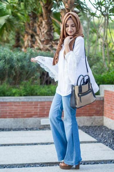 Atasan Laila Top 5 tips mix and match celana untuk hijabers agar