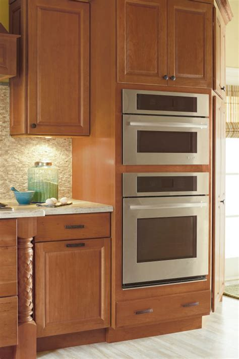 oven and microwave housing cabinet specialty cabinets accessories schrock cabinetry