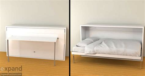 Hover   Horizontal Single Murphy Bed Desk   Expand Furniture   Folding Tables, Smarter Wall Beds