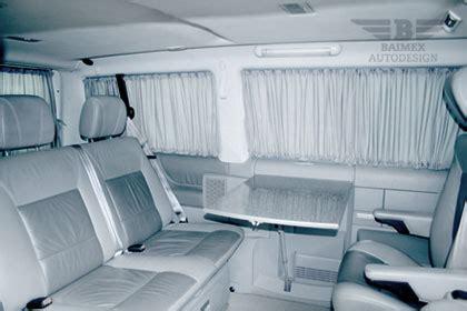 Exclusive Home Interiors autogardinen f 252 r ihren vw t4 alle modelle baimex