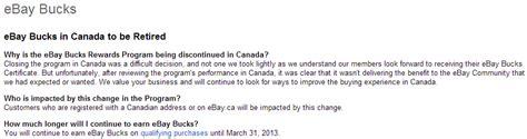 ebay bucks canada get 8 back on every ebay item you buy