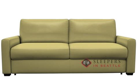 my comfort palliser customize and personalize roommate queen leather sofa by