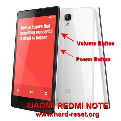 xiaomi redmi note 4g mobile phone hard reset and remove how to easily master format xiaomi redmi note redmi note