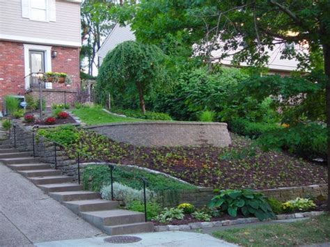 small sloped backyard landscaping pendientes paisajismo en 75 ideas de dise 241 os incre 237 bles