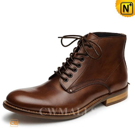 mens lace up boot cwmalls 174 mens lace up leather ankle boots cw726509