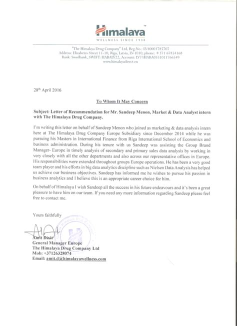 Reference Letter Ucl himalaya ceo reference letter