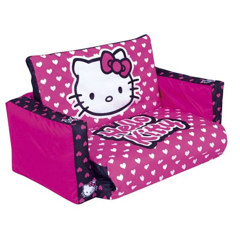 hello kitty flip out sofa hello kitty tween flip out sofa reviews toylike