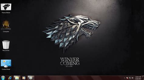 windows 8 themes of games game of thrones theme for windows 7 8 8 1 digital