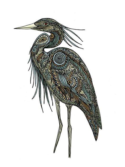 heron tattoo designs heron drawing sketches drawings