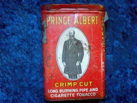 Criminal Record Check Prince Albert Antique Prince Albert Tobacco Metal Tin Rj 1907