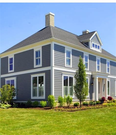 exterior color pittsburgh paint dover grey home sweet