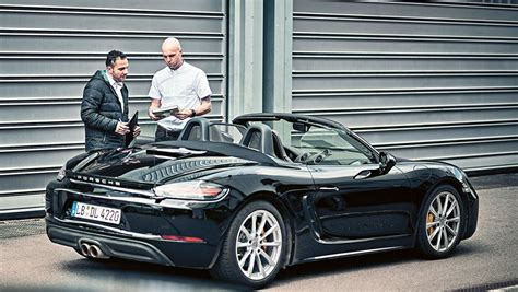 Porsche Engineering by Porsche Engineering 718 Boxster 100 Prozent Testing