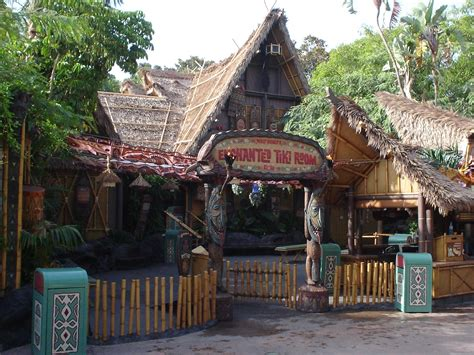Tiki Hut Disneyland enchanted tiki room disneyland