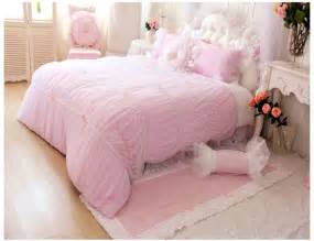 luxury girls bedding pink luxury girls lace ruffle tulle bowtie princess