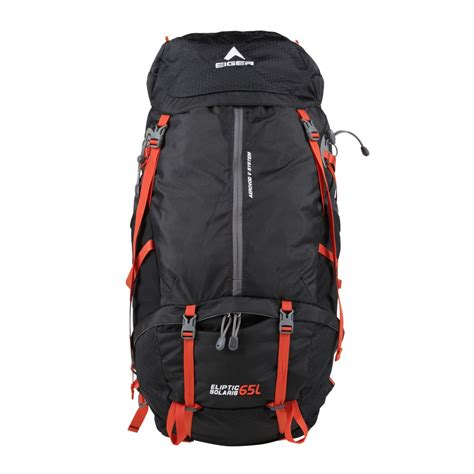 Tas Carrier Eiger 1242 Rhinos 45l eiger eliptic solaris 65l black orange packs