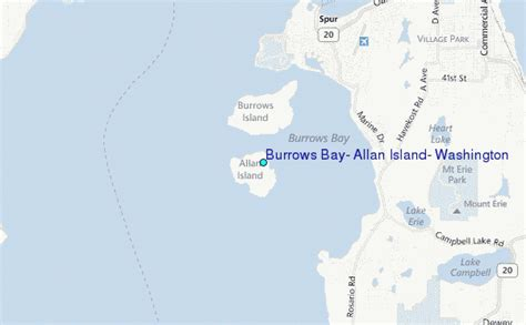 the magic of burrows bay a burrows bay books burrows bay allan island washington tide station