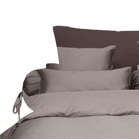 Couette 260x220 by Heckett Housse De Couette Puntini Taupe 260x220 Cm