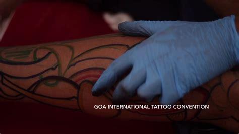 tattoo convention goa 2018 goa international tattoo convention 2018 youtube