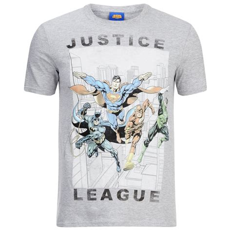 Hoodie Justice League 3 Fasata Fashion Shop dc comics s justice league flying t shirt grey marl pop in a box uk
