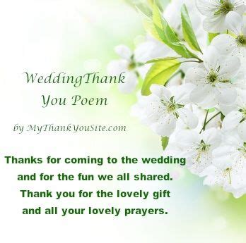 thank you poems for wedding gifts 17 best images about thank you cards thank you notes poems and quotes on