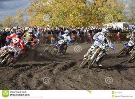 how to start racing motocross start motocross a of motorbike racing editorial