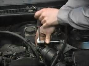 how to change a fuel filter how to remove car parts to