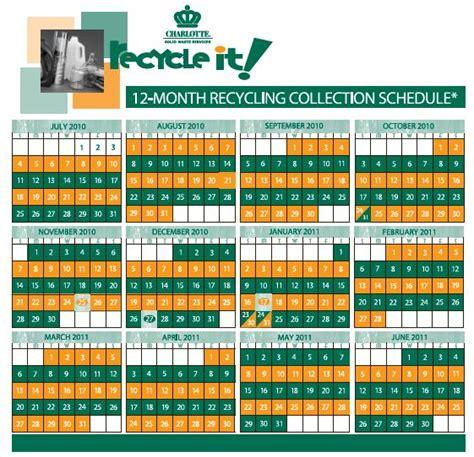 Calendar Trash Creek Residents Association
