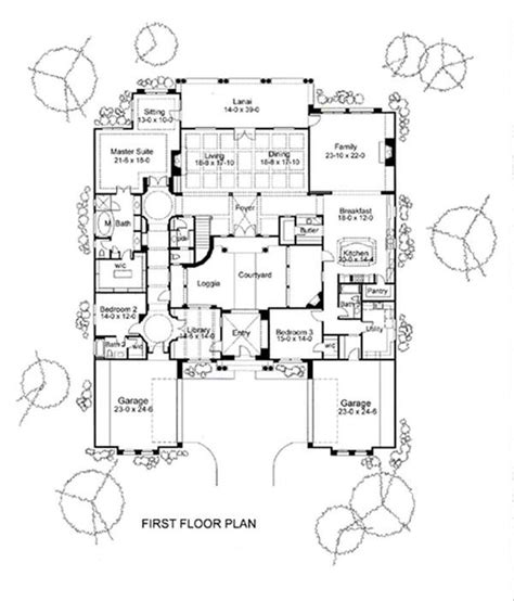 Symmetrical House Plans | symmetrical house floor plans floor plans with dimensions
