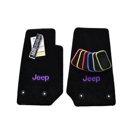 jeep wrangler floor mats