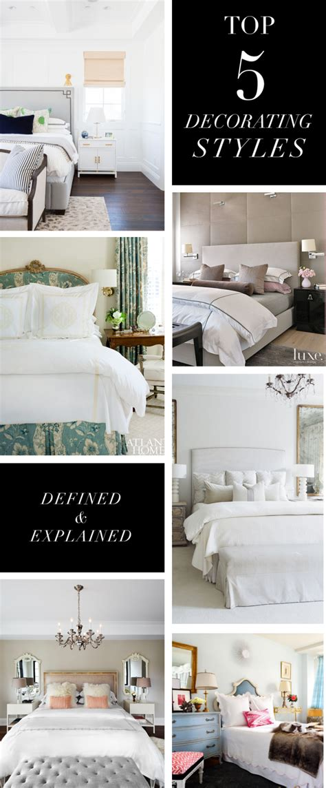 most popular interior design blogs top 5 decorating styles and bedroom themes