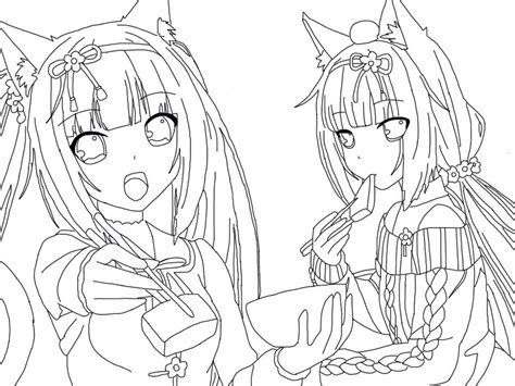 Sketches To Trace by Anime Drawing And Tracings Yamimochi